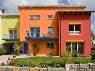 Haus Streichen Welche Farben Sind Modern Cheap Sockelputz Verputzen