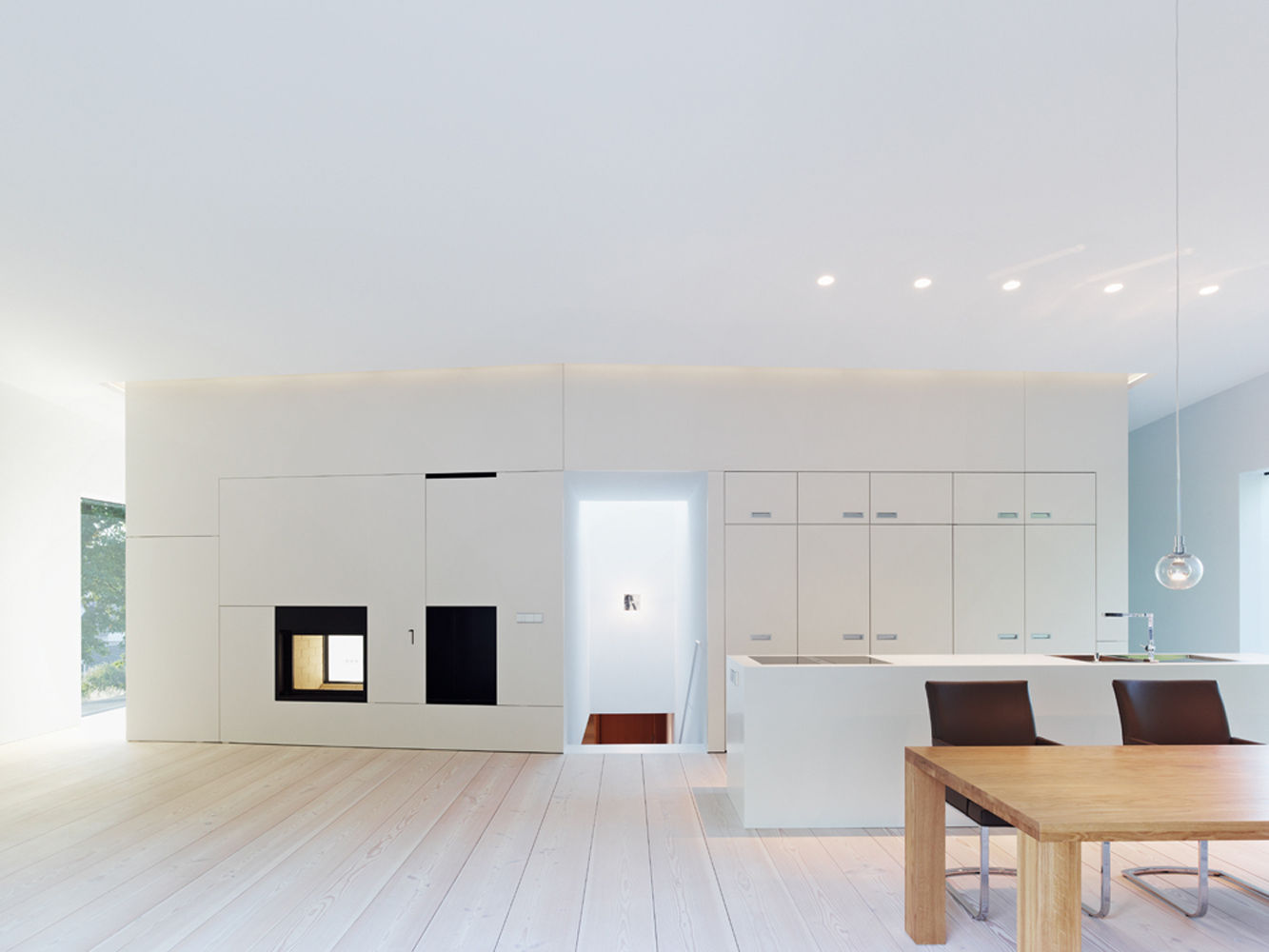 k chenwand als raumteiler. Black Bedroom Furniture Sets. Home Design Ideas