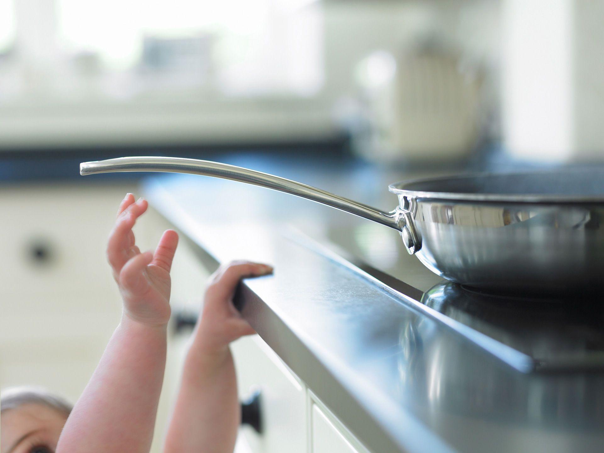 Herdschutzgitter Baby Küche u Sicherheit u Schutz vor Kinder