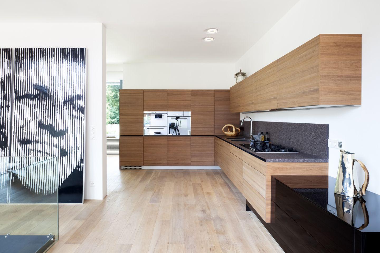 grifflose massivholz k che. Black Bedroom Furniture Sets. Home Design Ideas