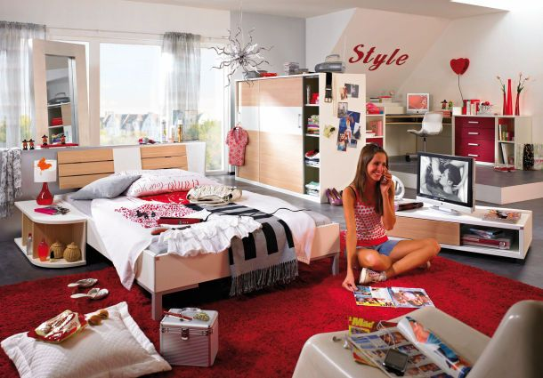 clevere ideen f rs teenie zimmer. Black Bedroom Furniture Sets. Home Design Ideas