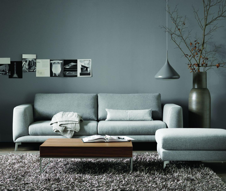 Wohnzimmer in grau t nen - Wohnzimmer grau gestrichen ...