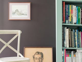 Wohntrend: Dunkle Wandfarben