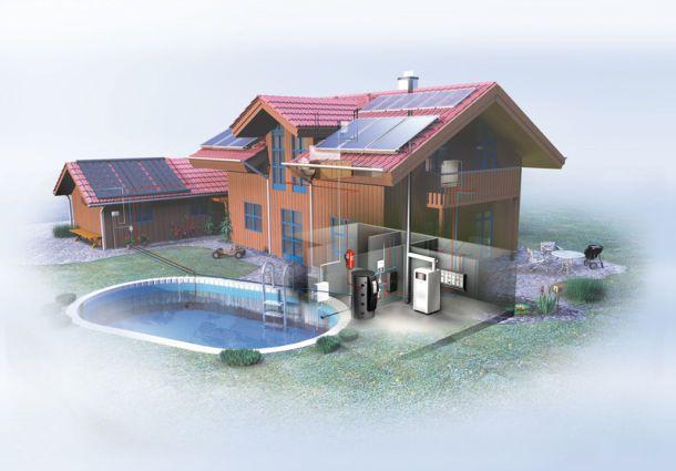 solarthermie und w rmepumpe effizienter im doppelpack. Black Bedroom Furniture Sets. Home Design Ideas