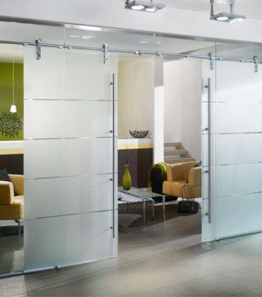 die wand aus glas transparente raumteiler. Black Bedroom Furniture Sets. Home Design Ideas