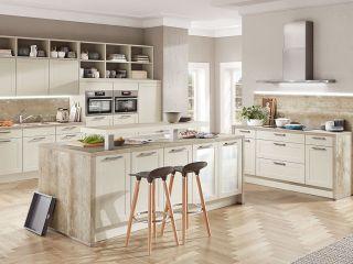 Küche: Freie Sicht Ins Wohnzimmer