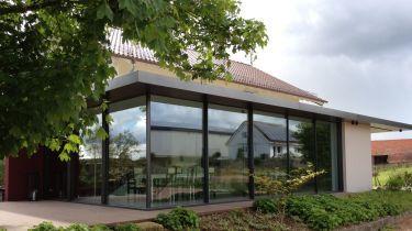 Aufstockung und anbau - Wintergarten reihenhaus ...