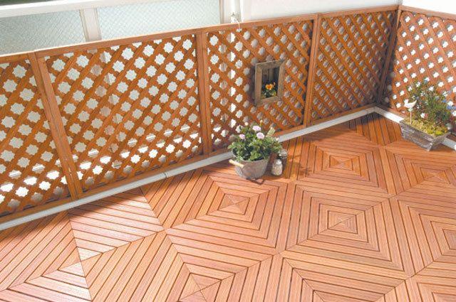holzfliesen auf dem balkon der richtige bodenbelag f r. Black Bedroom Furniture Sets. Home Design Ideas