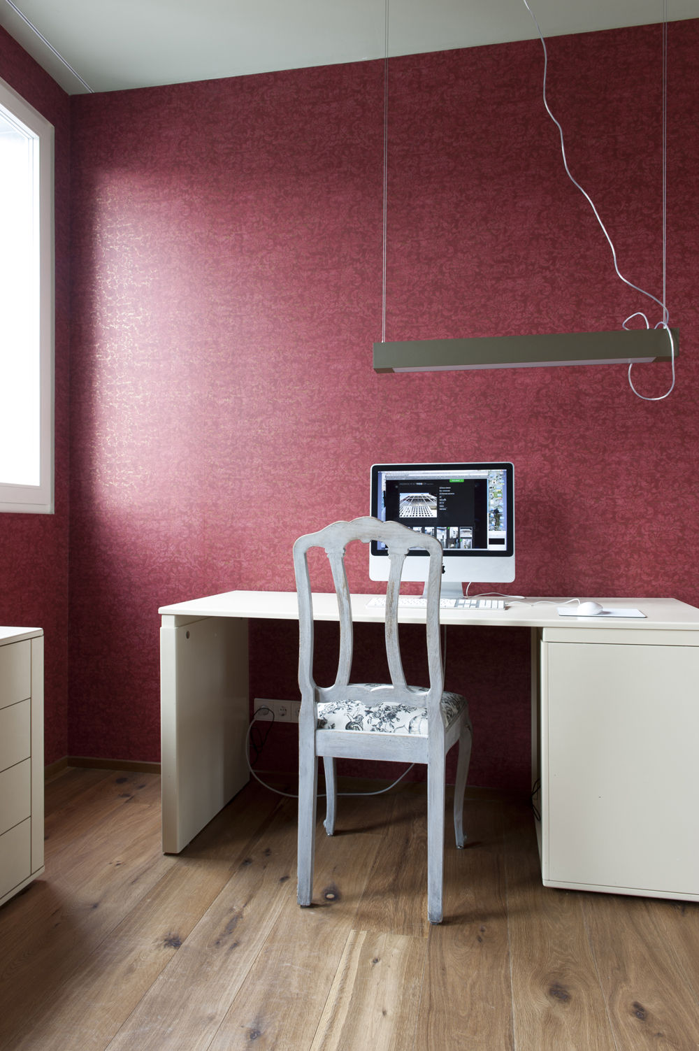Arbeitszimmer farbgestaltung  Das Arbeitszimmer mit Farbe gestalten - bauemotion.de
