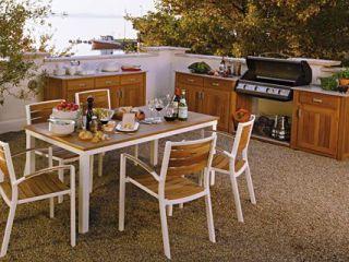 Gartenküche Mit Rustikalem Charme · Flexible Outdoor Küche