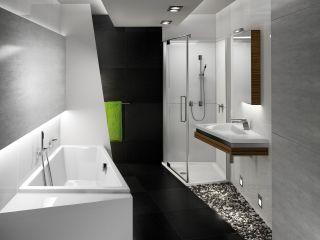 holzboden im badezimmer ein gutes gef hl unter den f en. Black Bedroom Furniture Sets. Home Design Ideas