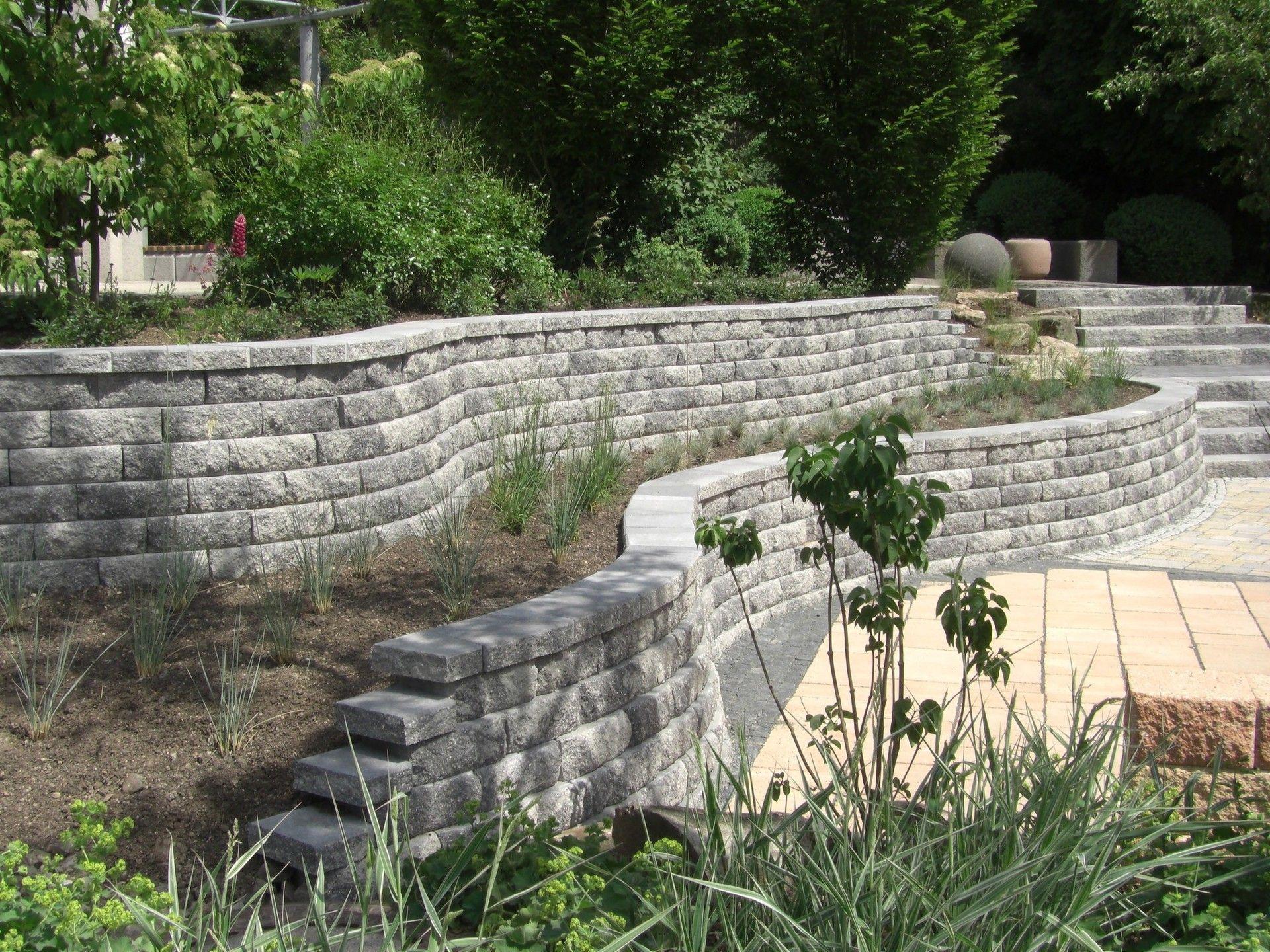 Gartenmauer Pflanzsteine Und Andere Moglichkeiten Der Abgrenzung