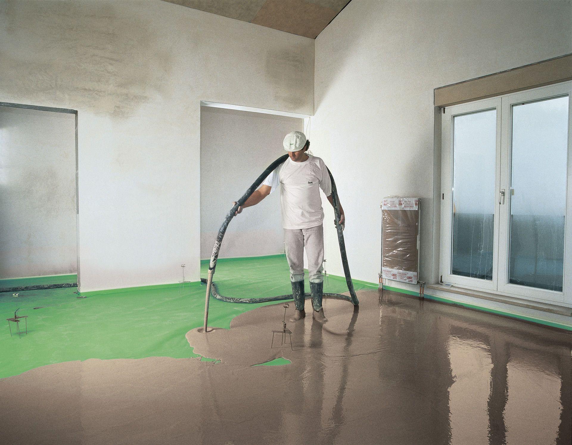 Hervorragend Estrich-Dämmung für Ruhe und Wärme in den Wohnräumen - bauemotion.de OB81