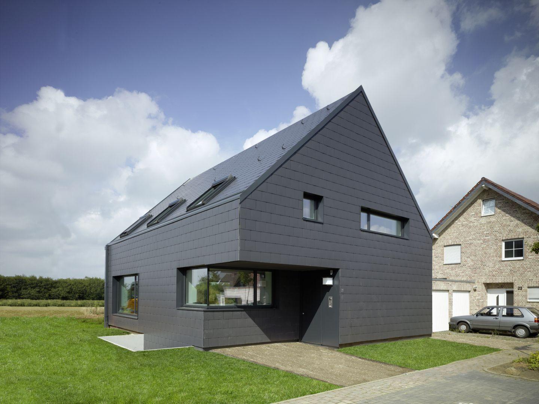 Moderne architektur mit schieferfassade - Moderne architektur ...