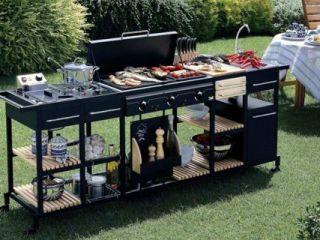 Outdoor Küche Reihenhaus : Gartentrend: outdoor küchen ideen finden bauemotion.de